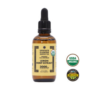 3000mg lemon hemp extract front
