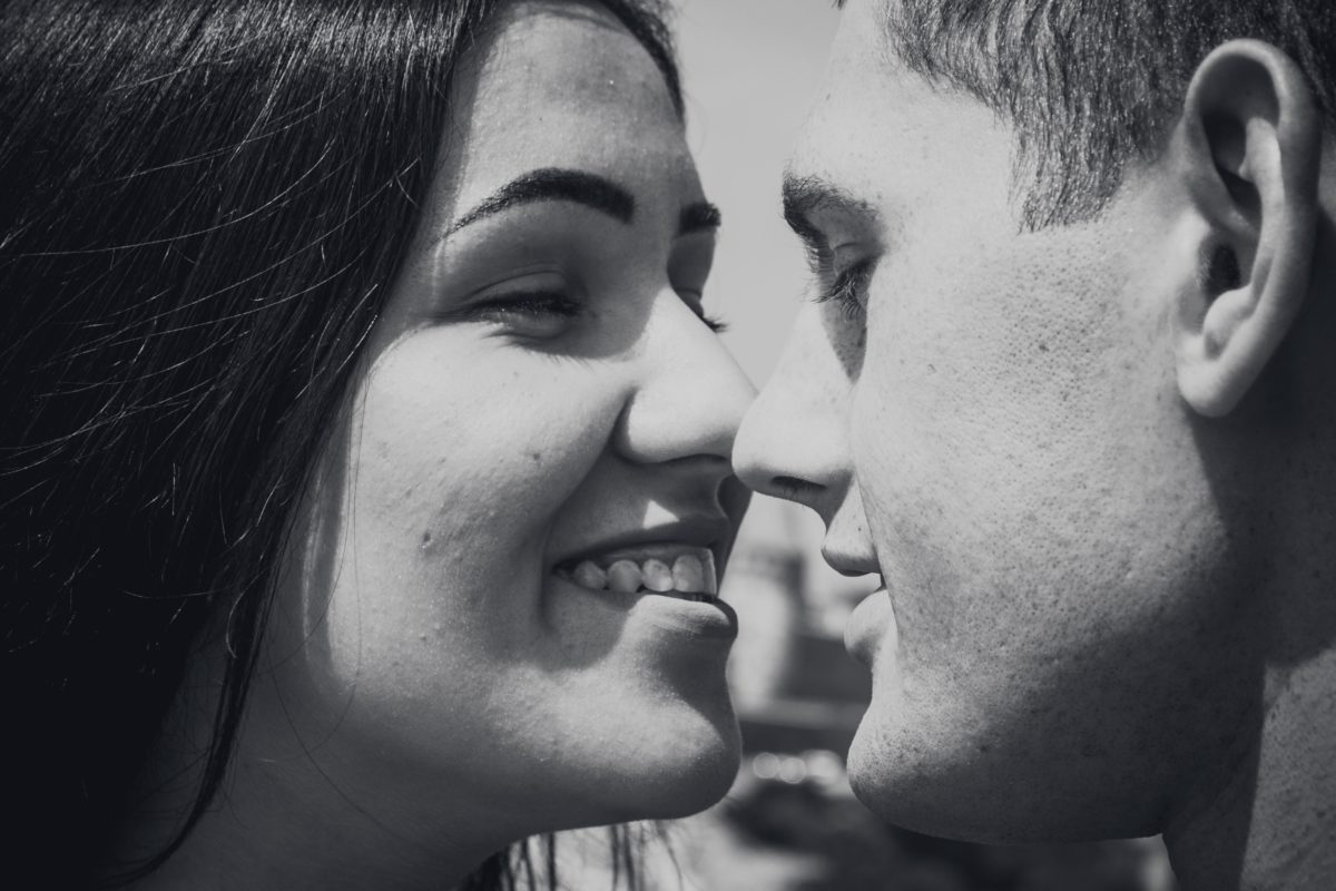 Couple enhancing romance with CBD oil
