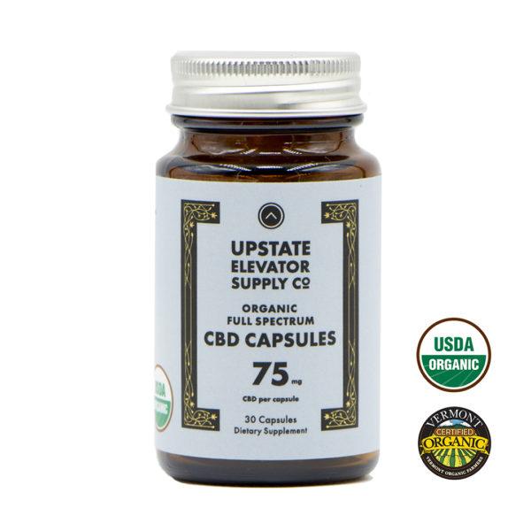 75mg organic full spectrum capsules
