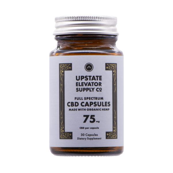 75mg organic capsules front