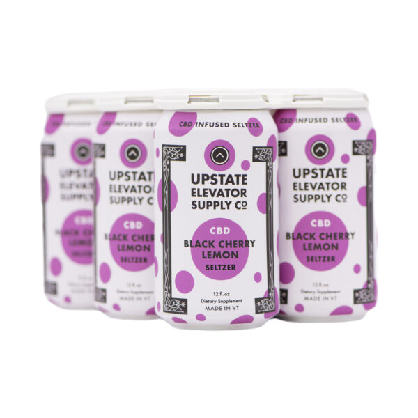 Black Cherry Lemon Seltzer six pack