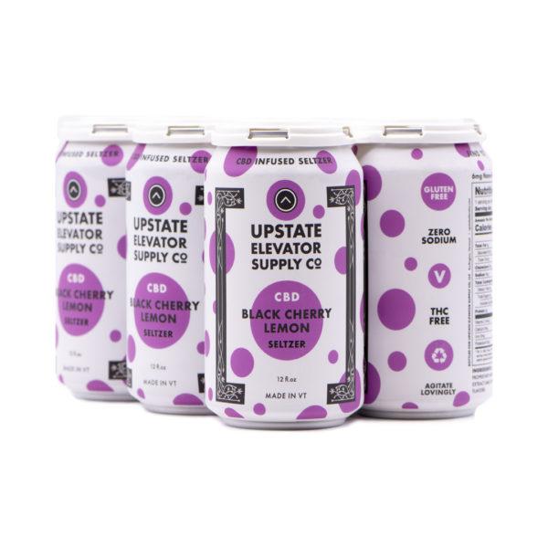 Six Pack: Black Cherry Lemon CBD Seltzer