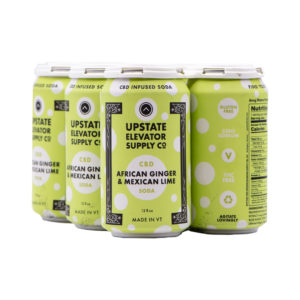 Ginger Lime CBD Sparkling Soda