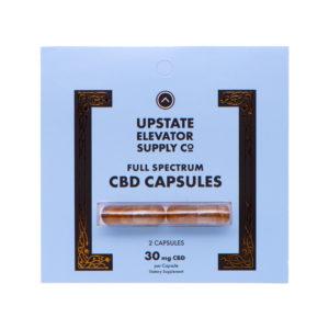 Full Spectrum CBD Capsules Blister Pack 30mg 2qty