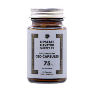 Full Spectrum CBD Capsules 75mg 30qty