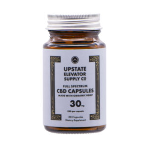 30mg organic full spectrum capsules