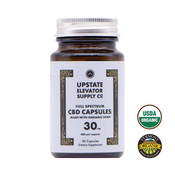 30mg organic full spectrum capsules