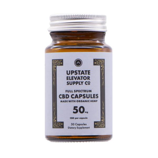 50mg organic capsules