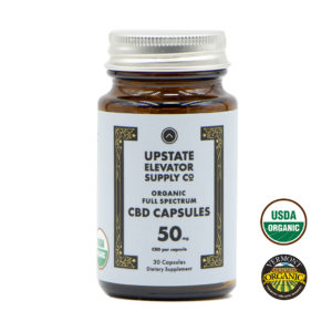 50mg organic full spectrum capsules