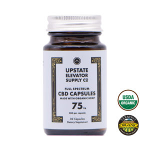 75mg organic full spectrum capsules