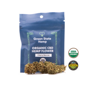 Organic Outdoor Hemp Flower (3.5 grams) - Cherry Bounce