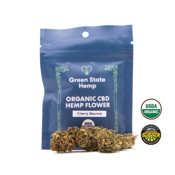 Organic Outdoor Hemp Flower (3.5 grams) - Cherry Bounce