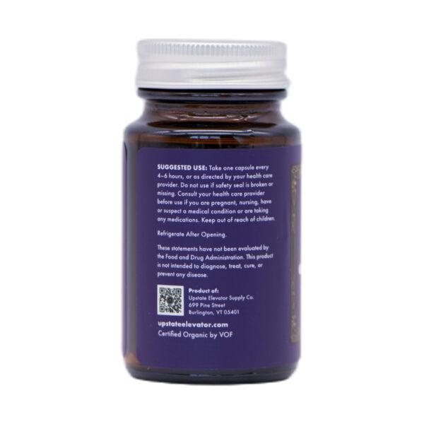 30mg Organic CBG+CBD+CBDA Capsule side 3